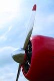 Hélice de avião Fotografia de Stock