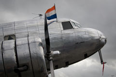 Hélice de avião clássica Foto de Stock