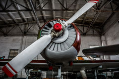 Hélice de avião do esporte fotos de stock royalty free
