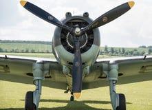 Hélice de aviões do vintage Fotografia de Stock Royalty Free