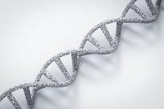 Hélice de la DNA o estructura de la DNA Imagenes de archivo