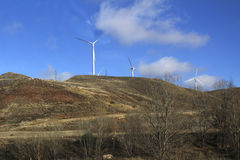 Hélice de la energía Fotografía de archivo libre de regalías