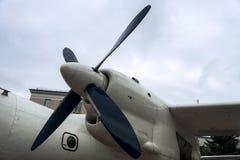 Hélice de um avião imagens de stock