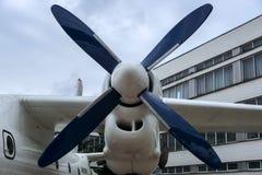Hélice de um avião Imagens de Stock Royalty Free