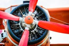 Hélice do airplaine do bujão Imagens de Stock Royalty Free