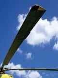 Hélice do helicóptero fotografia de stock