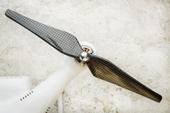 Hélice do zangão de Quadcopter Foto de Stock