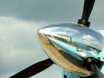 Hélice dos aviões Foto de Stock