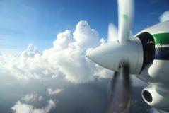 Hélice dos aviões imagem de stock royalty free