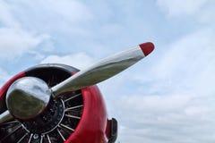 Hélice dos aviões Imagens de Stock Royalty Free