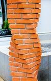 Hélice dos tijolos Fotografia de Stock