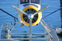Hélice plana do flutuador fotografia de stock royalty free