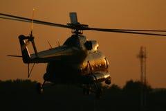 Hélicoptère Image libre de droits