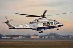 Hélicoptère Agusta-Westland AW-139 de FIAT Photo stock