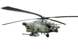 Hélicoptère armé Images libres de droits