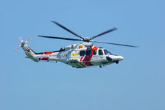 Hélicoptère b Photographie stock