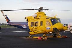 Hélicoptère Baby Bell 412 Photo libre de droits