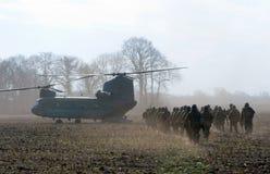 Hélicoptère chinook images libres de droits