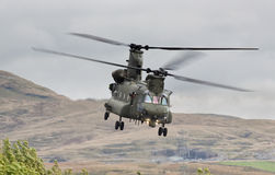 Hélicoptère chinook Photo stock