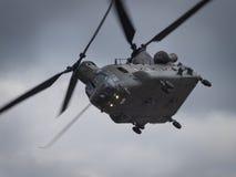 Hélicoptère chinook image libre de droits