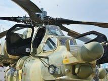 Hélicoptère combat Image libre de droits
