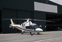 Hélicoptère d'Agusta A109 Photographie stock libre de droits