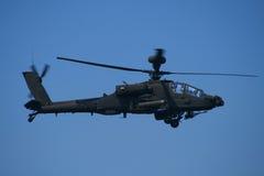 Hélicoptère d'Apache Images libres de droits