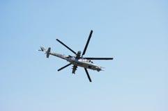 hélicoptère d'armée Images libres de droits