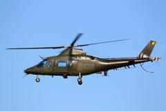 Hélicoptère d'armée d'Agusta A 109 Images libres de droits