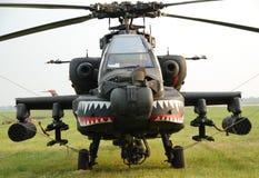 Hélicoptère d'armée d'Apache images libres de droits