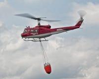 Hélicoptère d'incendie Photographie stock libre de droits