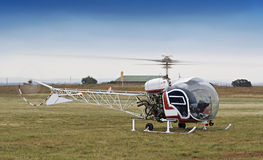 Hélicoptère de Bell 47 Photo stock