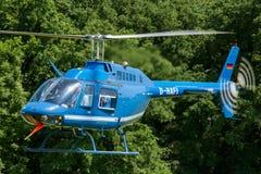 Hélicoptère de Bell 206 Image libre de droits