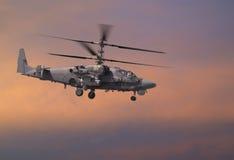 Hélicoptère de combat Photographie stock libre de droits