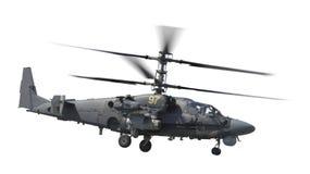 Hélicoptère de combat d'isolement Image libre de droits