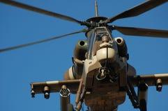 Hélicoptère de combat de Rooivalk Image stock