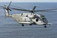 Hélicoptère de corps des marines de CH-53E Photos stock