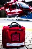 Hélicoptère de délivrance images libres de droits