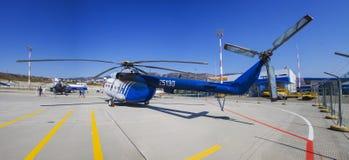 Hélicoptère de délivrance de Gidroaviasalon 2014 Photographie stock libre de droits