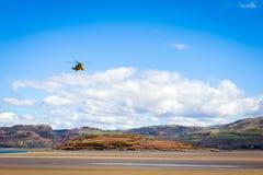 Hélicoptère de délivrance de Sea King Photos libres de droits