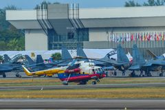 Hélicoptère de hanche du mil Mi-17 photos stock