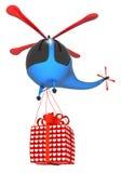 Hélicoptère de jouet Illustration Stock