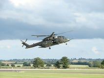 Hélicoptère de MERLIN photographie stock libre de droits