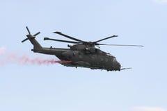 Hélicoptère de MERLIN hc3. images libres de droits
