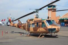 Hélicoptère de militaires de Huey de l'Armée de l'Air du Maroc Photo stock
