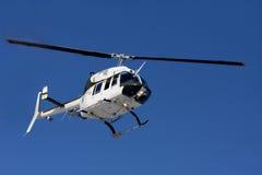 Hélicoptère de police Photos stock