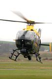 Hélicoptère de police. Photographie stock
