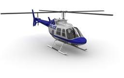 Hélicoptère de police Photo libre de droits