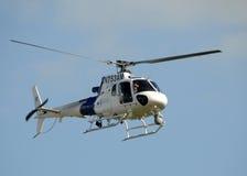 Hélicoptère de protection de douane et de cadre des USA Photographie stock libre de droits