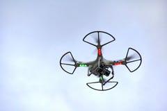 Hélicoptère de quadruple Photos libres de droits